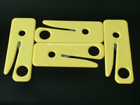 10 PCS SEATBELT CUTTER SEAT BELT CUTTER SAFETY KNIFE YELLOW