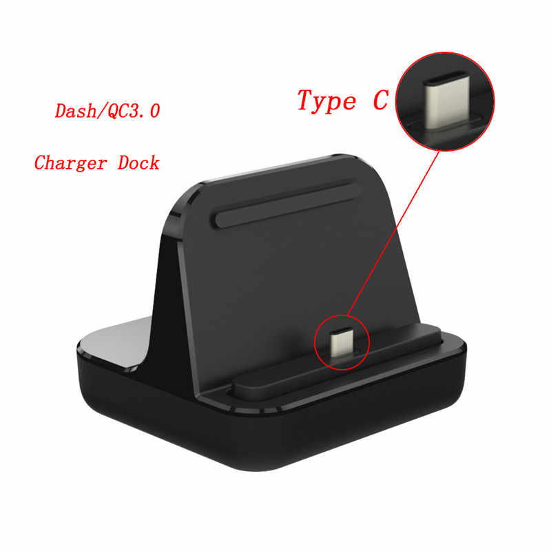 One plus 6T Oneplus 3/3T/5/6 Dash Charger Dock Station,Desktop Stand Quick  Charger Adapter Original USB 3 1 type-c dash cable