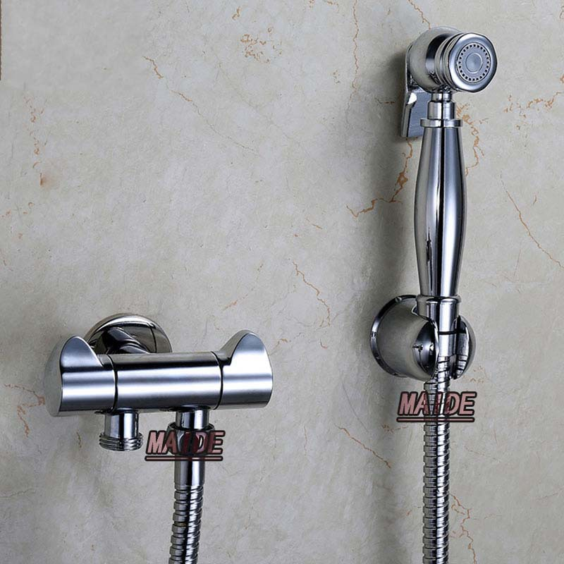 Genial Toilet Brass Hand Held Bidet Spray Shower Head Douche Kit Shatta Copper  Valve Bathroom Bidet Sprayer Jet Tap U0026 Holder U0026 Hose In Bidets From Home  Improvement ...