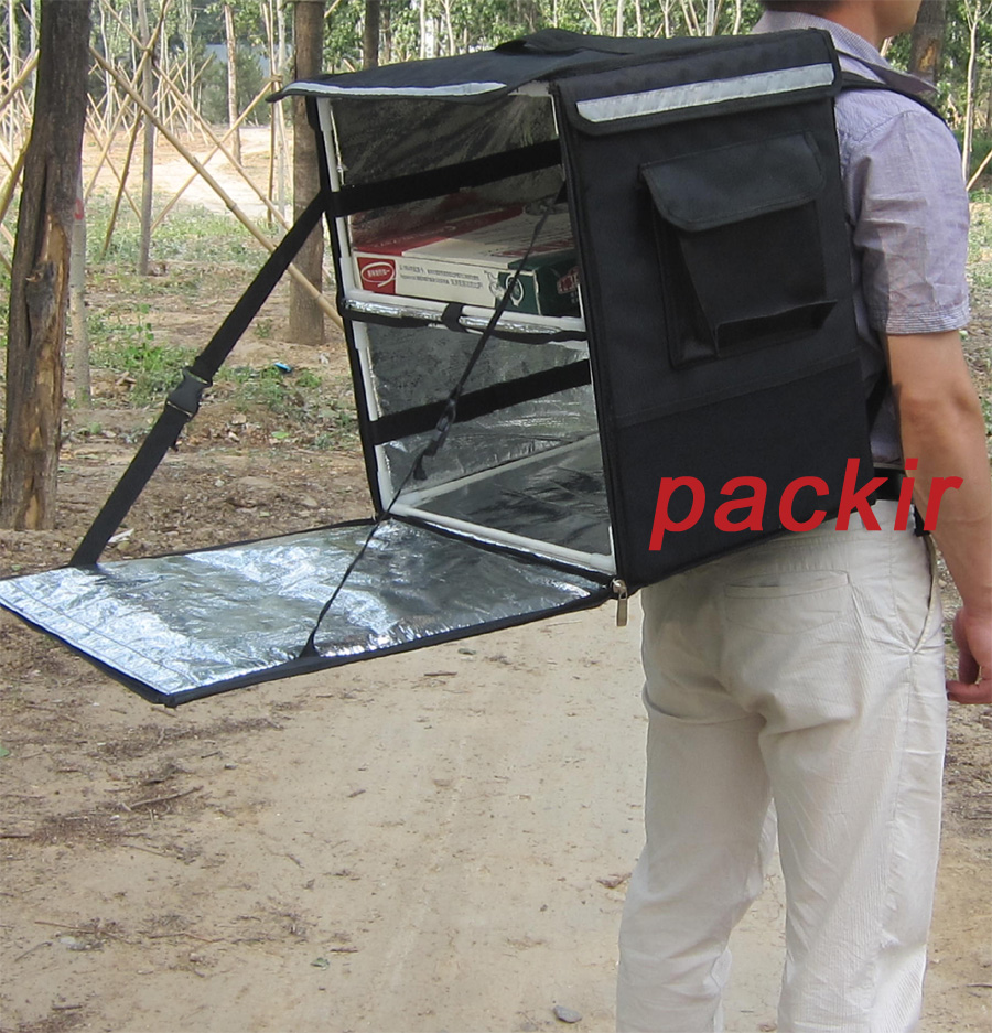Pk 66a Heat Insulation Food Delivery Backpack Carry Out