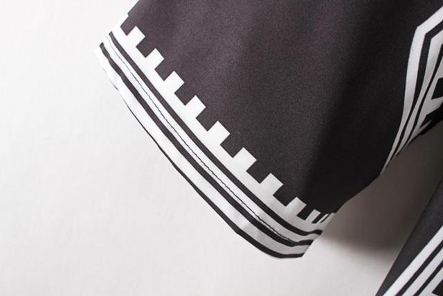 Women Blouses Summer Women clothes Print Loose Off Shoulder Top Three Quarter Sleeve,chemisier femme 2016blusas femininas