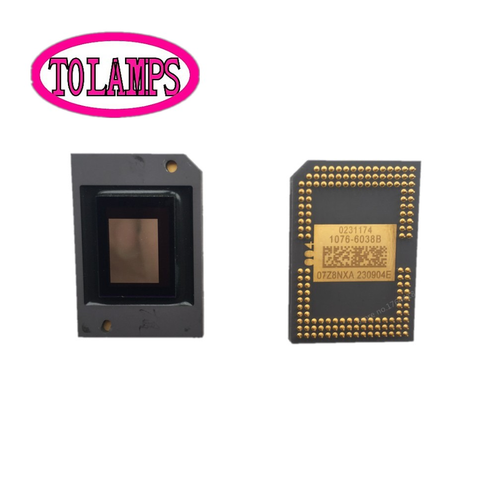new and original DMD Chip 1076-601AB 1076-6038B 1076-6039B 1076-6438B 1076-6439B for 1410X MX301 MP626 MP525P MP525ST 1076 6038b 1076 6039b chip for nec np216 projector dmd chip