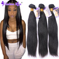 10A Queen Rosa Hair  Malaysian Virgin Hair Straight 3 Bundles Human Hair Extension Malaysian Straight Hair Bundles