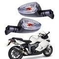 Nuevo 1 Par Motocicleta Turn Signal Indicator Lamp Light Fit para BMW F650GS Claro G450X R1200R R1200GS K1300S K1200R F800S F800ST