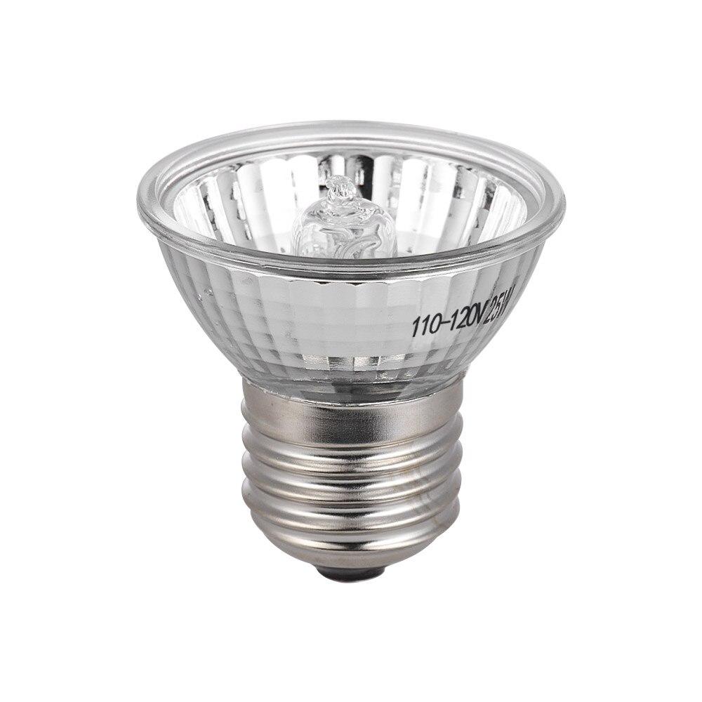 Yinuoday Reptile Lamp E27 220V Halogen Spotlights Full Spectrum Basking Lamp UVA UVB Light Bulb for For Reptiles Lizards Turtle Snakes Aquarium
