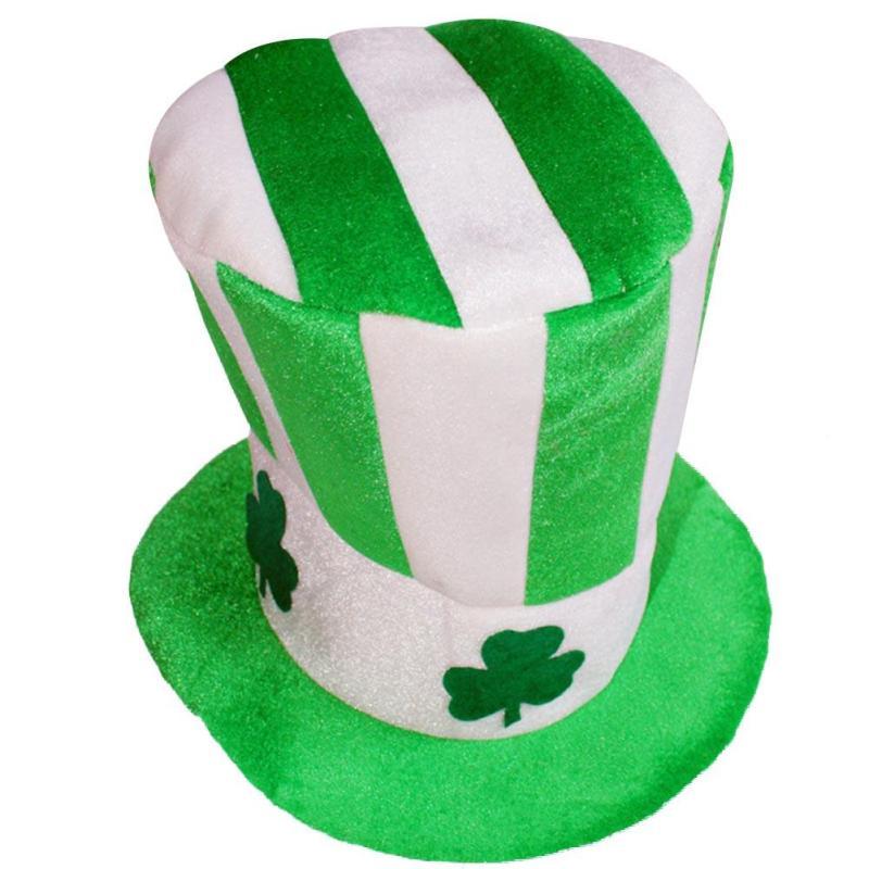 Nueva Halloween Unisex trébol irlandés sombrero mujeres hombres ... fa56e44f155