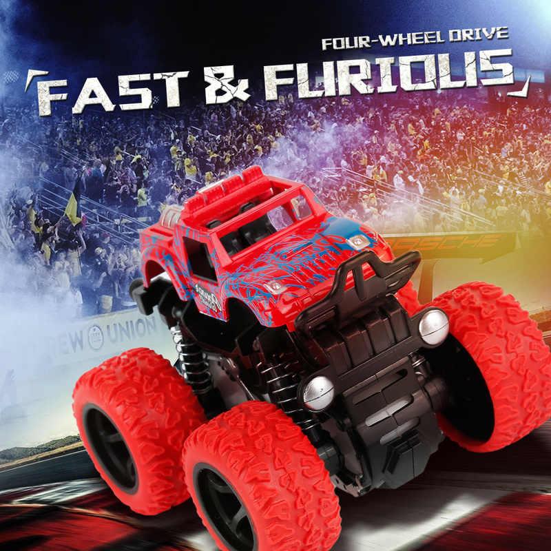 Inertie Vierwielaandrijving Off-road Voertuig Dropshipping Onafhankelijke Lente Ontwerp Botsing Weerstand Auto Speelgoed