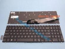 NOVA 2 em 1 Inglês teclado Para DELL Inspiron 7778 7779 7577 7773 laptop Teclado Inglês Com Backlit