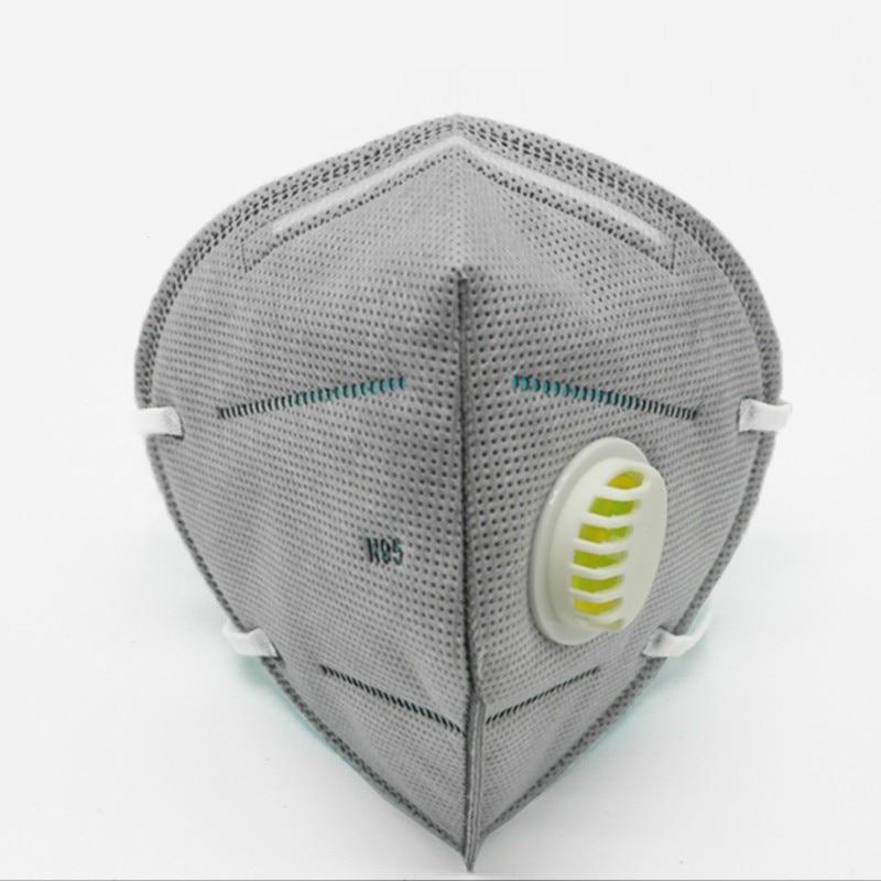 Ausdrucksvoll Industrie Staubdicht Maske Verteidigung Smog Aktivkohle Atmen Ventil Nicht-woven Hängen Ohr Typ Maske Gesundheit Pflege T0529cmd Hohe Belastbarkeit