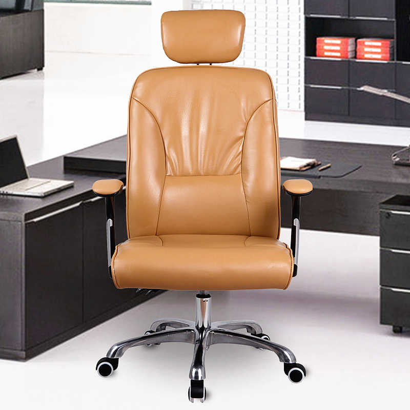 Hot Selling Office Computer Chair Ergonomic Boss Chair Super Soft Lying Lifting Seat Chair Strong Aluminum Alloy Support Chair super soft modern household office chair leisure lying lifting boss chair ergonomic swivel computer boss chair