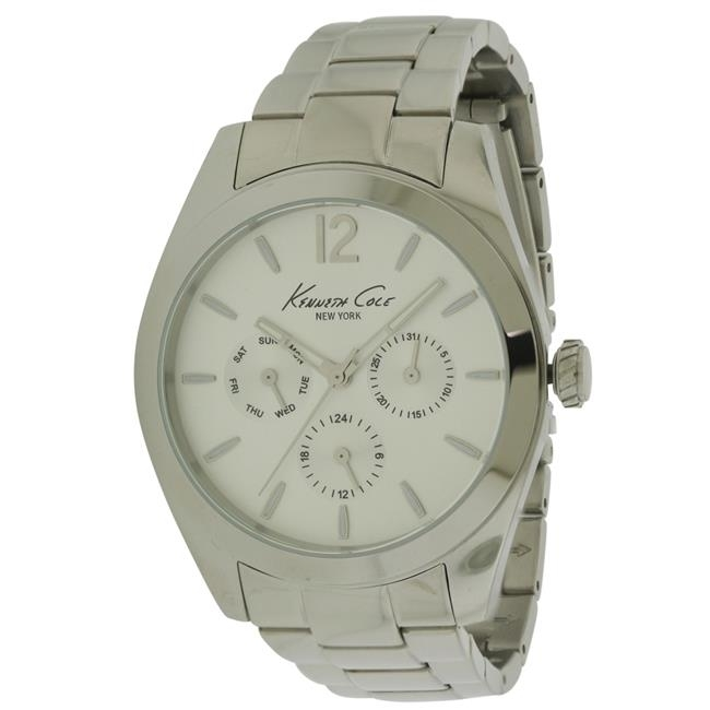 Kenneth Cole New York Stainless Steel Mens Watch 10027823 leonor greyl шампунь мужской медовый 120 мл