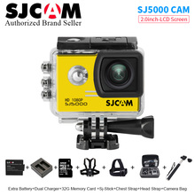 SJCAM series SJ5000 Action Camera 1080P Full HD30 fps Sports DV 2.0 inch screen Waterproof 30M SJ 5000 Sport Cam