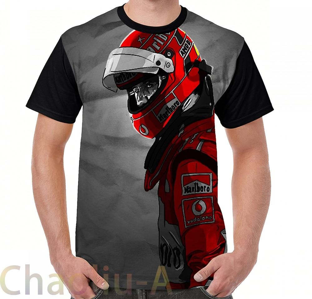 Schumacher T-Shirt Men Funny Printed T Shirt Women Tops Tees Short Sleeve Casual Tshirts