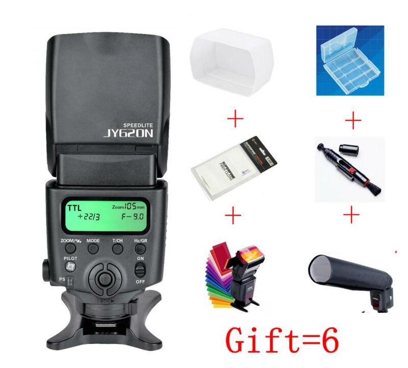 Viltrox JY-620N Caméra LCD TTL Flash Speedlite pour Nikon D3100 D3200 D5100 D5200 D5300 D7000 D800 D810 D90 DSLR