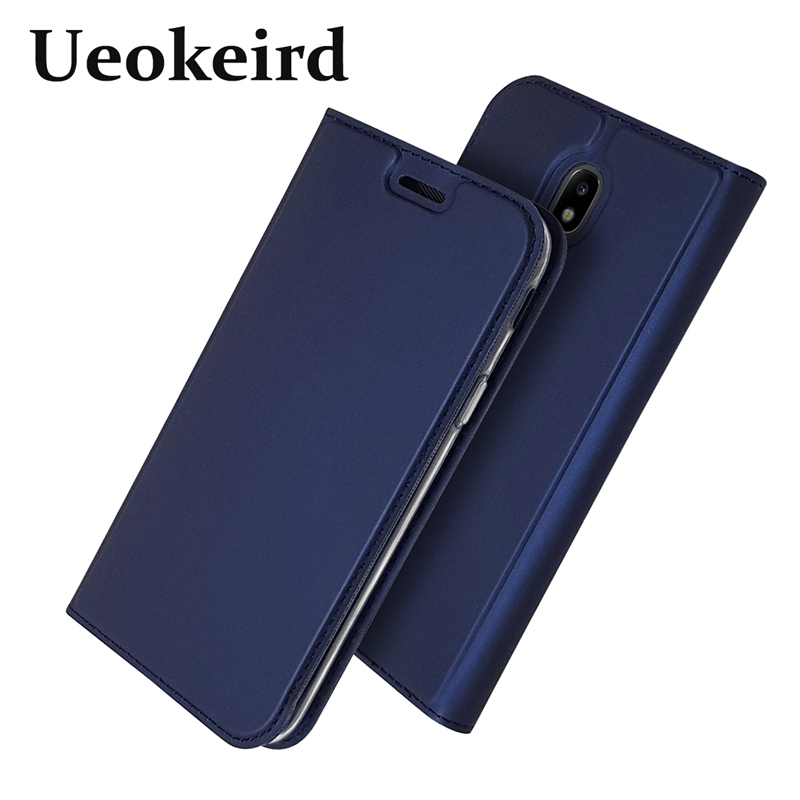 European version For Samsung J3 2017 Case Magnetism Flip Leather Cover For Samsung J5 2017 Black For Galaxy J7 2017 Phone Cases