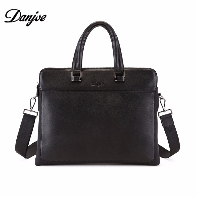 2c48967a44bd US $151.0 |DANJUE Luxury Designer Cowhide Leather Top handle Tote with  Removable Shoulder Strap Business Briefcases Bag Men Leather D8071 1-in ...