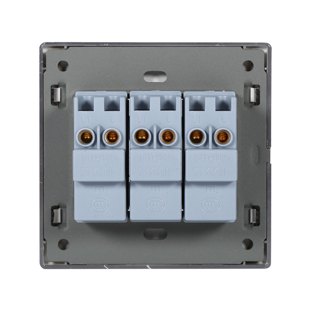 New Arrival 1 Way 250V 10A Home Modern Type Electrical Push Buttons ...