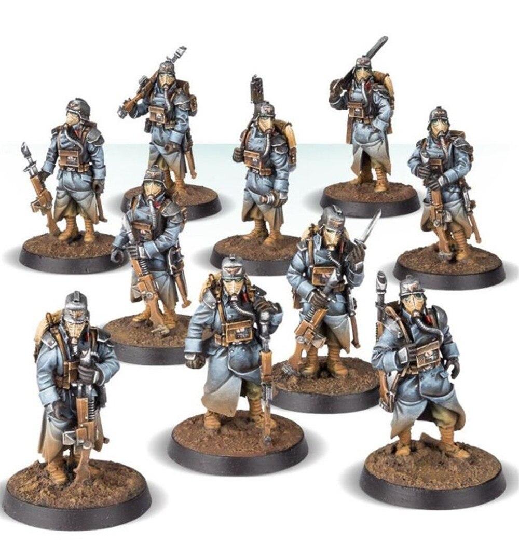 Death Korps of Krieg Infantry Squad (At Ease)