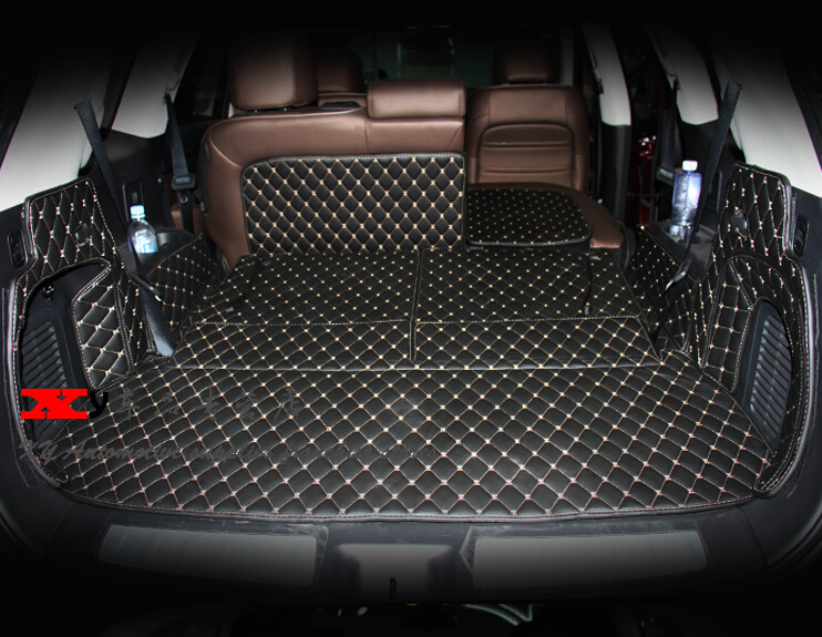 Good Special Trunk Mats For Nissan Pathfinder R52 7seats