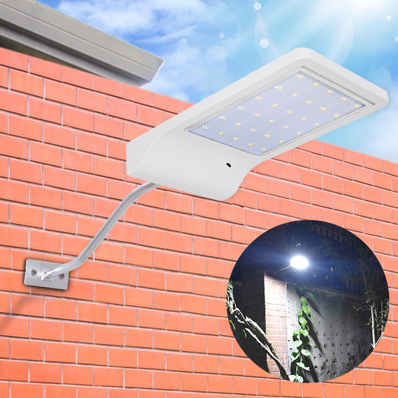 Solar Lights Outdoor 30 Led Light Control Security Night