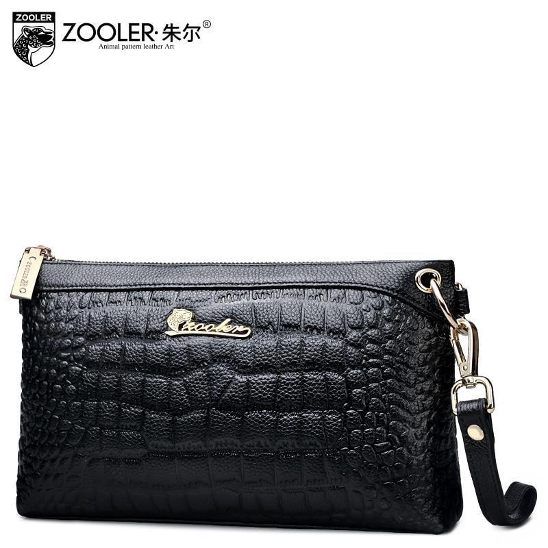 ФОТО ZOOLER factory wholesale 2017 women messenger bags genuine leather shoulder bag top quality famous brand ladies crossbody #265