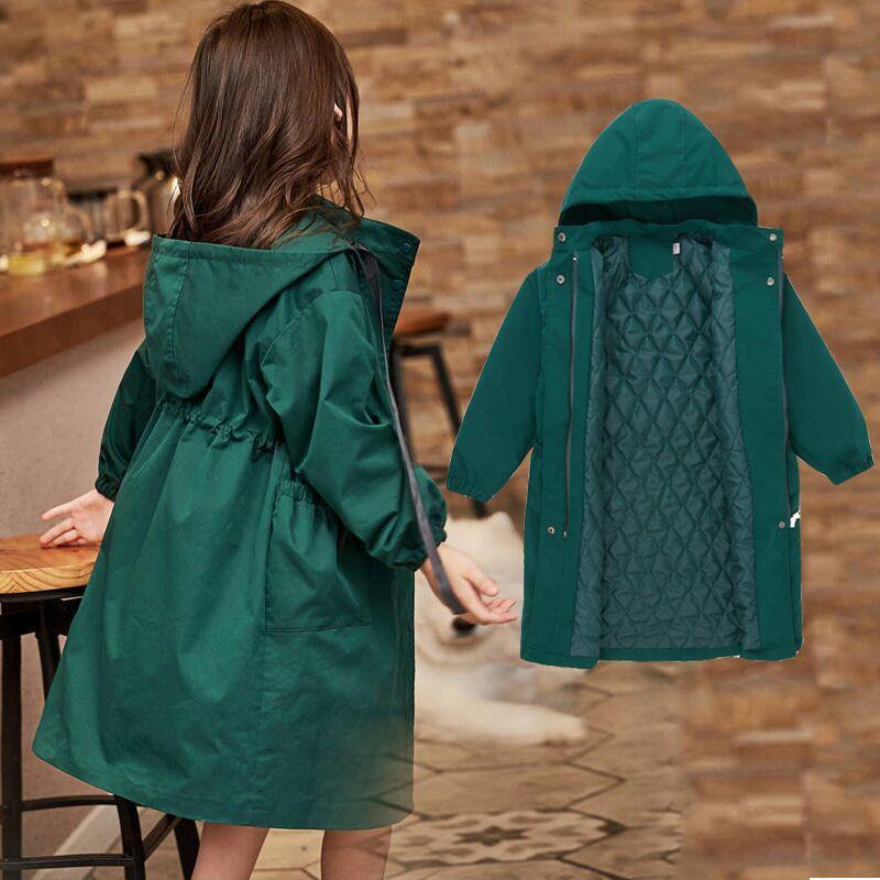 2019  Cuhk Girls Spring Fashion Casual Trench Coat