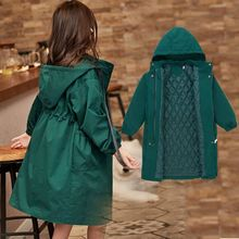 2019 Cuhk Girls Spring Fashion Casual Trench Coat