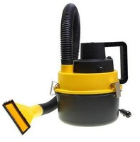 90W High Power Drum Car Vacuum Cleaner Portable Electric Car Cleaner Machine Handheld Wet And Dry