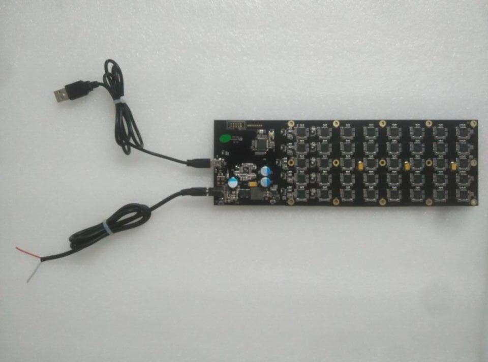 YUNHUI se LTC minero USB minero Gridseed blade1.5-2,5 m una pcb con cables mejor que zeus minero ANTMINER U1 U2U3