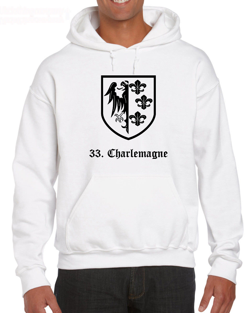 Mens Tops 33A Waffen Ss Charlemagne Military Collection Custom