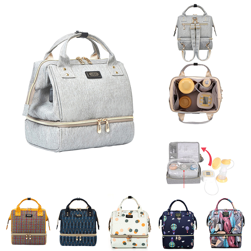 Diaper Bag Mummy Maternity Bag For Baby Small Waterproof Baby Nappy Changing Backpack For Moms Yoya Stroller Organizer Baby Bag