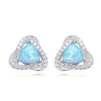 Panda100 Gift Stud Earrings for Women S925 Silver Swarovski crystal Stud Earrings for Mom Colorful Jewelry Earrings girlfriend