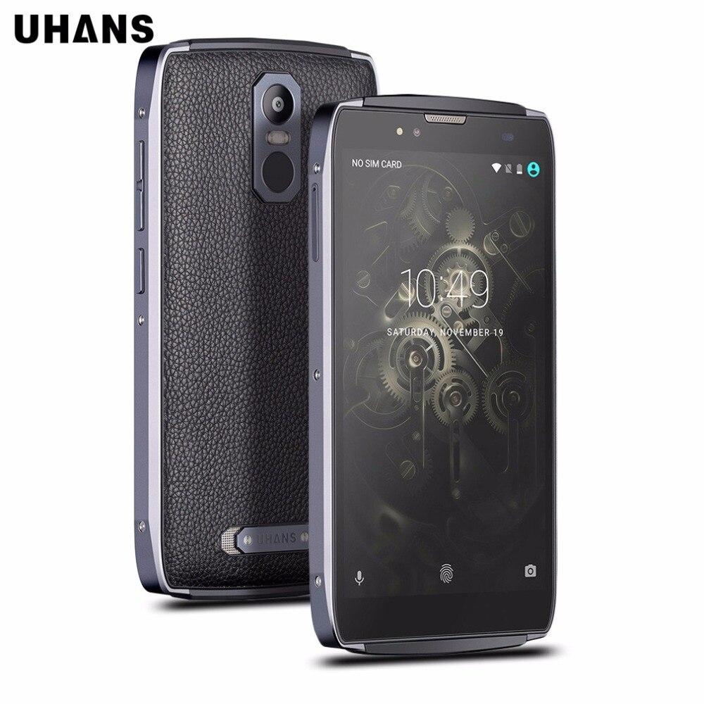 UHANS U300 5.5 pulgadas Octa Core 4G Teléfono Móvil Android 6.0 4 GB RAM 32 GB R