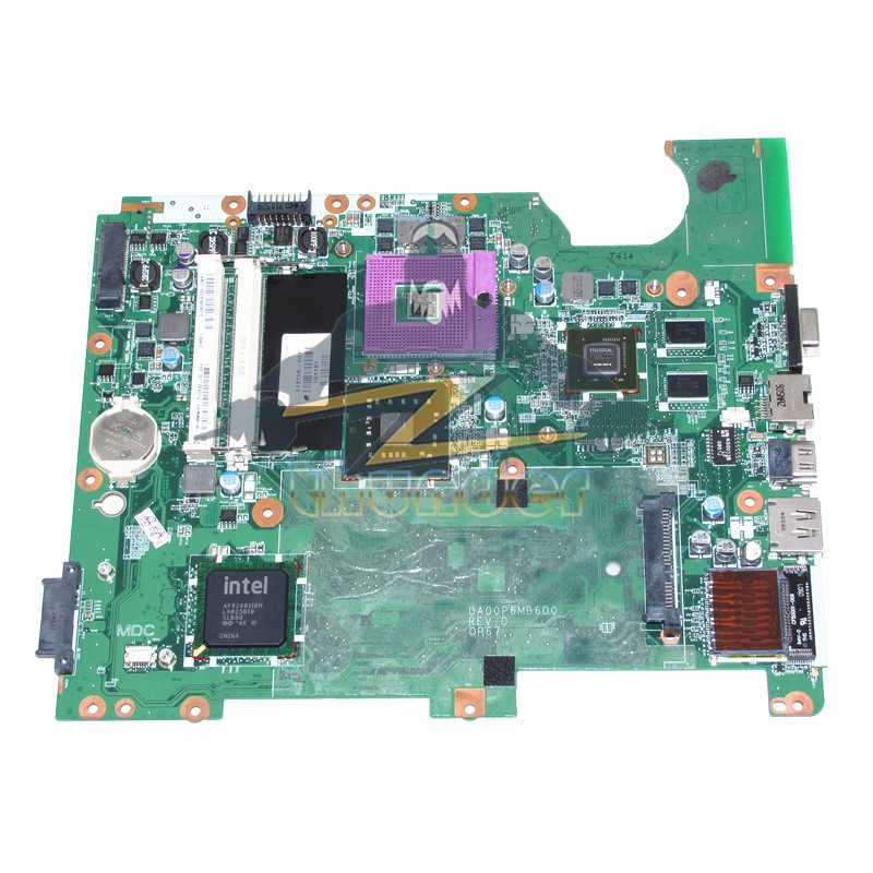DA00P6MB6D0 513758-001 for HP CQ61 G61 laptop motherboard PM45 G130M DDR2 top quality for hp laptop mainboard 513758 001 cq61 g61 laptop motherboard 100% tested 60 days warranty
