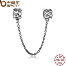 Regalo de Plata de Ley 925 Elegante patrón de Las Gotas de Accesorios PAS202 Encanto Cupieron la Pulsera y el Collar de La Joyería de la Cadena de Seguridad