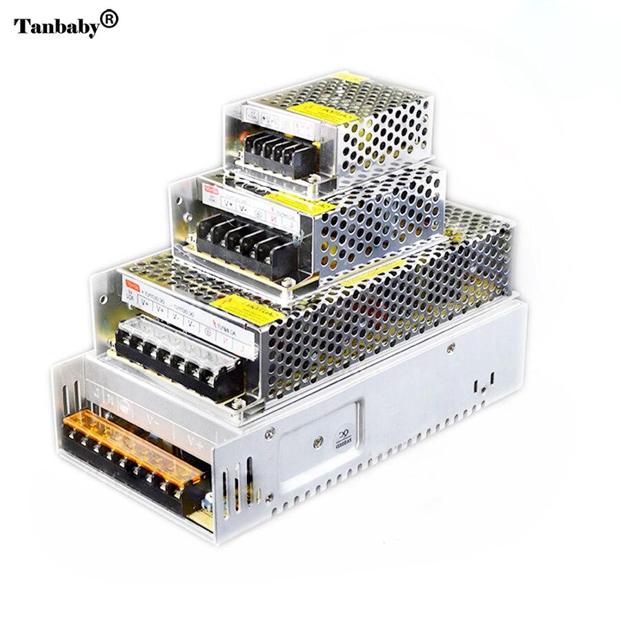 LED-driver DC12V 8.5A 10A 15A 20A 40A Belysningstransformator AC til DC-switch strømforsyning AC110-240V til DC12V til LED Strip