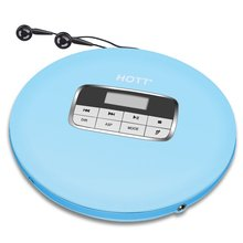 Portable CD Player, HOTT Portable Personal CD Player with Headphone Jack, Anti-Skip / Shockproof Protection Compact CD Music