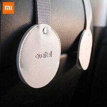 1pc youpin mijia車後部座席フックインテリア自動車製品ため車ハンガーバッグオーガナイザーフックシート車のアクセサリー