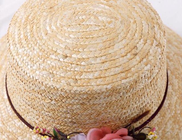 Hot Sale Korean Straw Sun Hats For Women