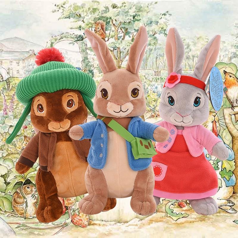 Peter Rabbit Plush Toys Doll Benjamin Lily Rabbit Plush Soft Stuffed Animals Toys For Children Girls Boy Birthday Christmas Gift