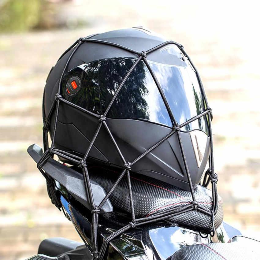 กระเป๋ารถจักรยานยนต์หมวกกันน็อกสัมภาระกระเป๋าเดินทาง Cargo สุทธิสำหรับ YAMAHA YZF 600R Thundercat R1 R6 R25 R3 FZ1 FAZER FZS 1000 วินาที