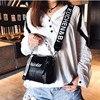 DikizFly Laser Women Bags Fashion Luxury Shoulder Handbags Chains Crossbody Bag Women 2018 Letter Mini Flap Purse bolsa feminina 2