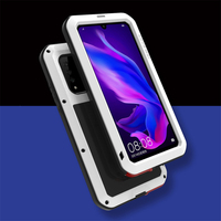 For Huawei P30 lite Case LOVE MEI Outdoor Sports Shockproof Protective Shell For Huawei P30 Pro P30 Metal Waterproof Cover Case