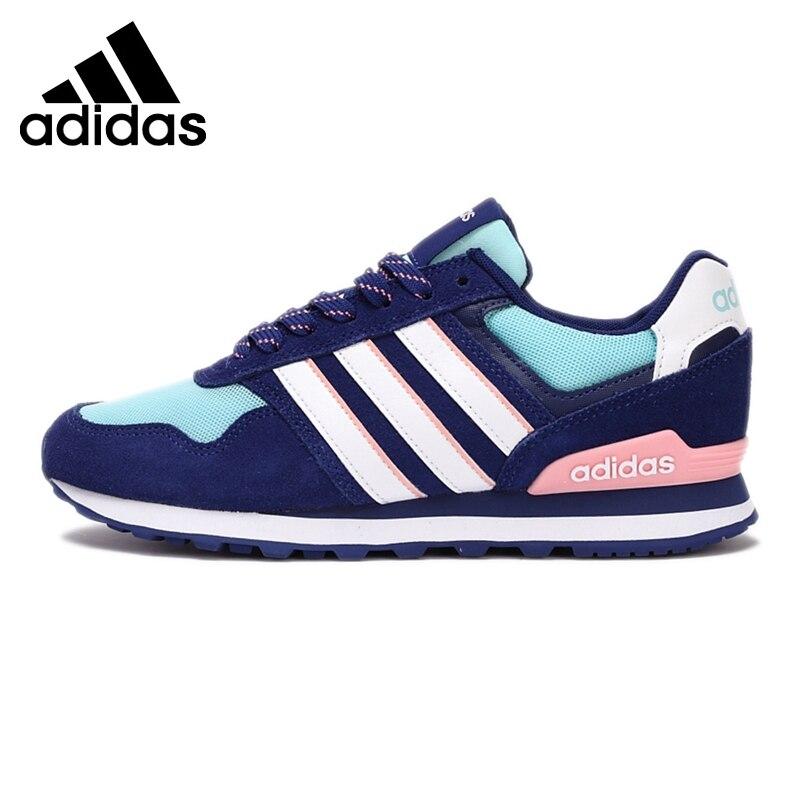 Original de la nueva llegada 2017 adidas neo etiqueta 10 k w skate zapatos  zapatillas de deporte