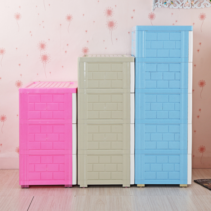 Exceptional Large Cartoon Thickening Children Baby Wardrobe Closet Plastic Drawer  Storage Cabinet Drawers Baby In Storage Baskets From Home U0026 Garden On  Aliexpress.com ...