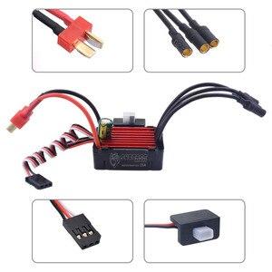 Image 4 - Surpass Hobby Brushless Speed Controller 25A ESC 2030 4500kv motore impermeabile per auto 1/18 e 1/20 RC