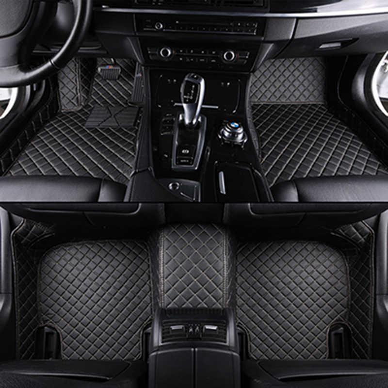 XWSN CUSTOM รถสำหรับ Chevrolet Captiva 2012-2017 Epica Sonic Aveo Sail TRAX lacetti Cruze อัตโนมัติอุปกรณ์เสริมเสื่อรถ