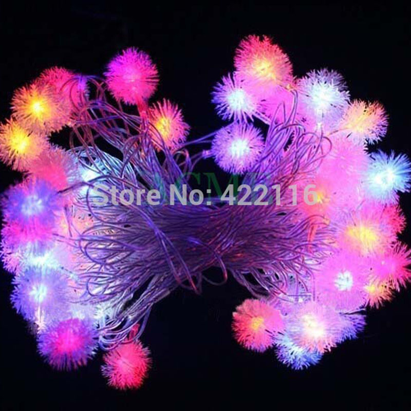 10m 50 RGB Edelweiss LED STRING FAIRY LIGHTs CHRISTMAS Lights Outdoor For PARTY WEDDING BEDROOM  Decoration Luces Led Decoracion