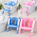 2016 New Design Children FoldingToliet Ladder Baby Potty Toilet Chilrdren Training Chair Toilet Stand Seat Kids Baby Portable