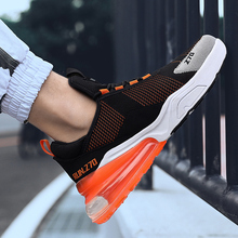 New Style Mesh Men Running Shoes Height Increasing Handsome